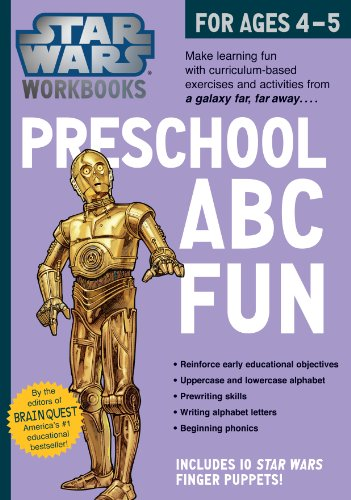 9780761178033: Star Wars Workbooks - Preschool ABC Fun!: For Ages 4-5