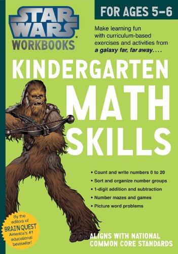9780761178040: Star Wars Kindergarten Math Skills, for Ages 5-6