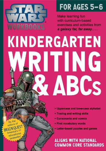 9780761178057: Star Wars Workbook: Kindergarten Writing and ABCs (Star Wars Workbooks)
