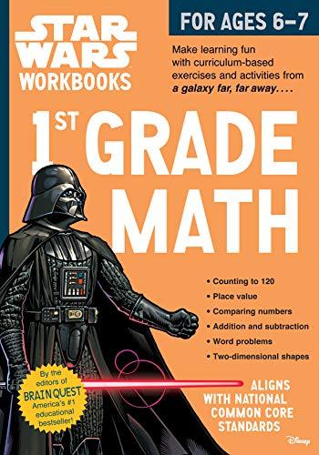 9780761178088: Star Wars Workbook: 1st Grade Math (Star Wars Workbooks)