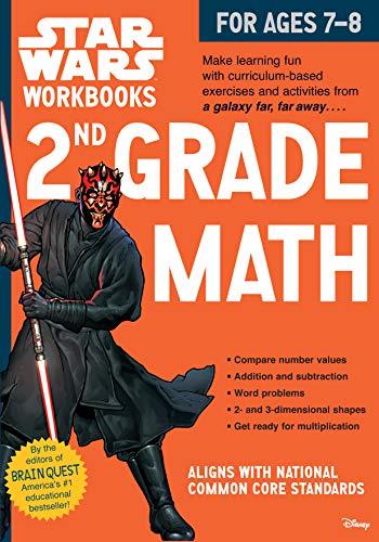 9780761178095: Star Wars Workbook: 2nd Grade Math (Star Wars Workbooks)