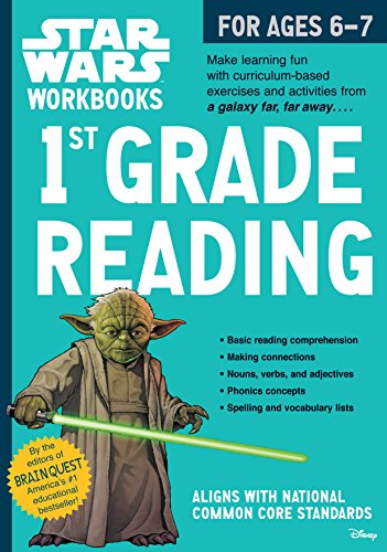 9780761178101: 1st Grade Reading (Star Wars Workbooks)
