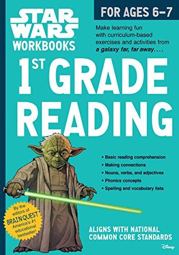 9780761178101: Star Wars Workbook: 1st Grade Reading (Star Wars Workbooks)