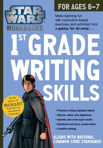 9780761178118: Star Wars 1st Grade Writing, for Ages 6-7
