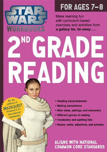 9780761178125: Star Wars 2nd Grade Reading, for Ages 7-8