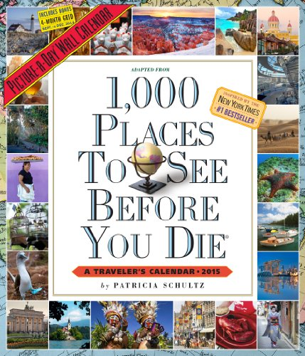 9780761178170: 1,000 Places to See Before You Die 2015 Calendar