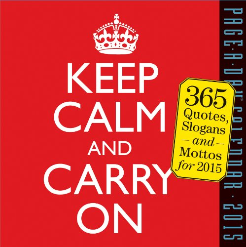 9780761178507: Keep Calm and Carry on Page-A-Day