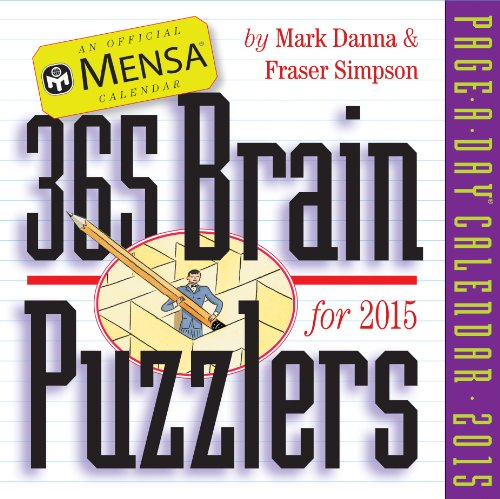 9780761178927: Mensa 365 Brain Puzzlers 2015 Page-A-Day Calendar