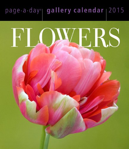 9780761179085: Flowers Page-A-Day Gallery Calendar (Workman Gallery Calendar)