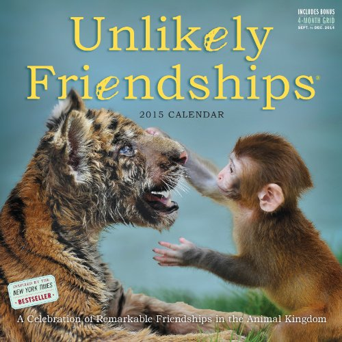Unlikely Friendships 2015 Wall Calendar: Workman Publishing