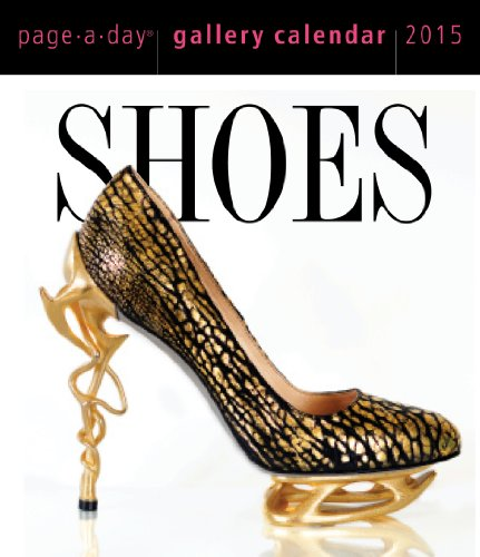 9780761179337: Shoes 2015 Gallery Calendar