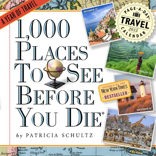 9780761179375: 1,000 Places to See Before You Die 2015 Calendar