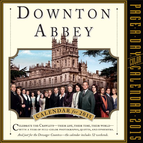 9780761179382: Downton Abbey 2015 Calendar