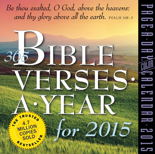 365 Bible Verses a Year 2015 Page-A-Day Calendar: Workman Publishing