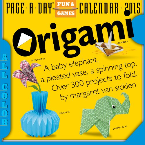Origami 2015 Page-A-Day Calendar: Van Sicklen, Margaret