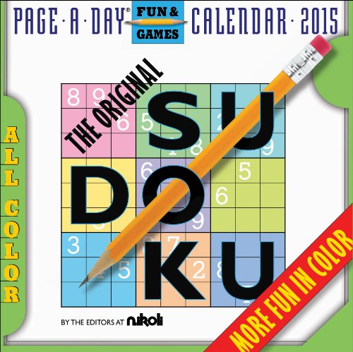 9780761179436: The Original Sudoku 2015 Page-A-Day Calendar