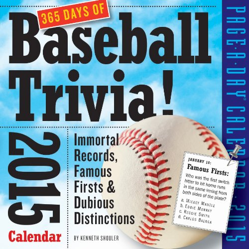 9780761179474: 365 Days of Baseball Trivia!