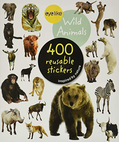 9780761179641: Eyelike Stickers: Wild Animals
