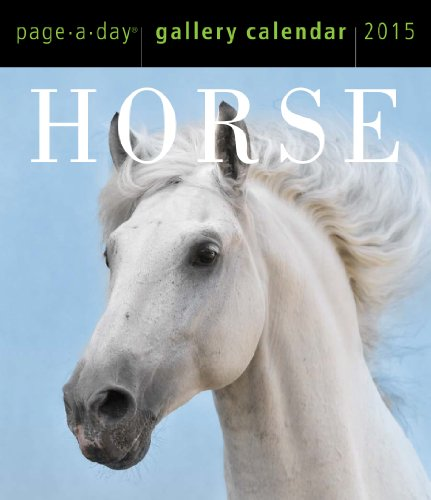 9780761179672: Horse 2015 Gallery Calendar