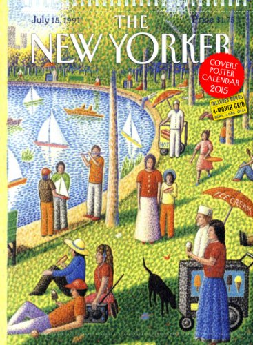 9780761179689: The New Yorker Covers 2015 Poster Calendar