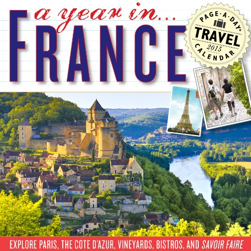 9780761180142: A Year in France 2015 Page-A-Day Calendar