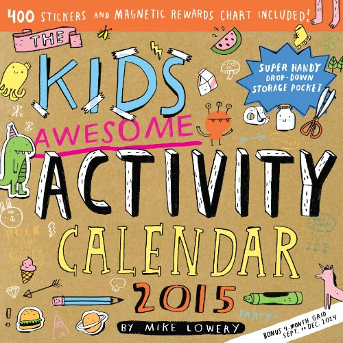 9780761180159: The Kid's Awesome Activity 2015 Calendar