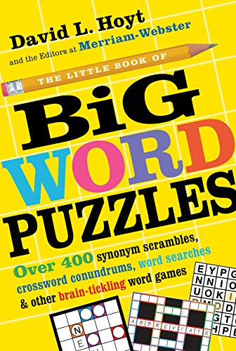 The Little Book of Big Word Puzzles: David L. Hoyt,