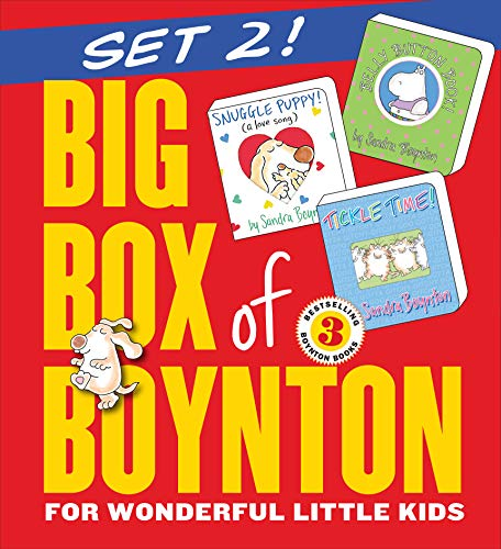 9780761180951: Big Box of Boynton Set 2!: Snuggle Puppy! Belly Button Book! Tickle Time!