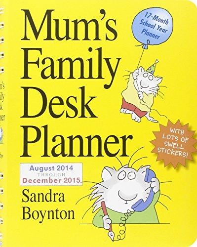 9780761181156: Mum's Family Desk Planner 2015