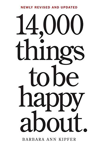 9780761181804: 14,000 Things to Be Happy About: The Happy Book