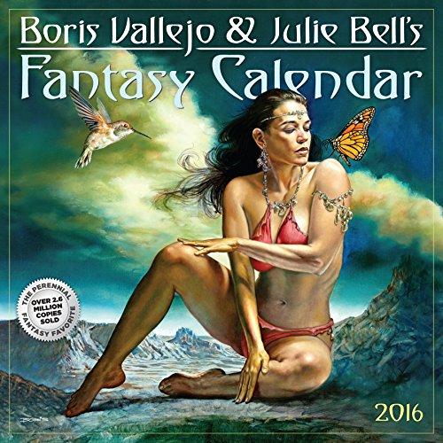 9780761182016: Boris Vallejo & Julie Bell's 2016 Fantasy Calendar (2016 Calendar)