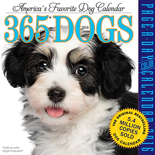9780761182177: 365 Dogs Color Page-A-Day Calendar 2016