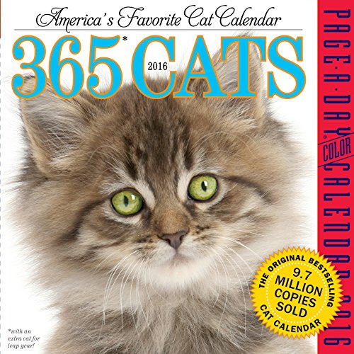 9780761182184: 365 Cats 2016 Page-A-Day Calendar (2016 Calendar)