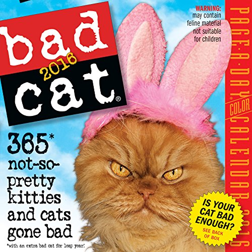 9780761182214: Bad Cat Color 2016 Calendar