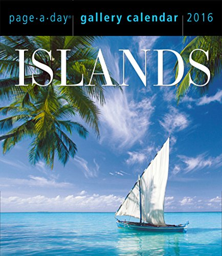 9780761182344: Islands Page-A-Day Gallery Calendar 2016