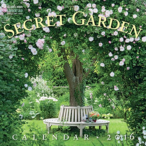 9780761182368: The Secret Garden Wall Calendar (2016 Calendar)