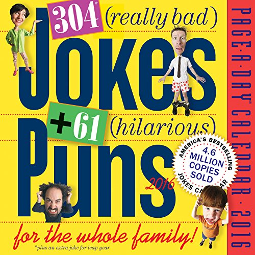 9780761182375: 304 Really Bad Jokes + 61 Hilarious Puns Page-A-Day Calendar 2016
