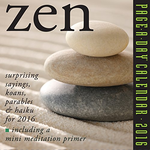 9780761182429: Zen Page-A-Day Calendar 2016 (2016 Calendar)