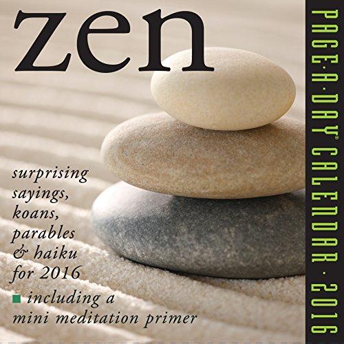 9780761182429: Zen Page-a-da 2016 Calendar