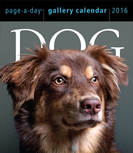 9780761182443: Dog Page-A-Day Gallery Calendar 2016