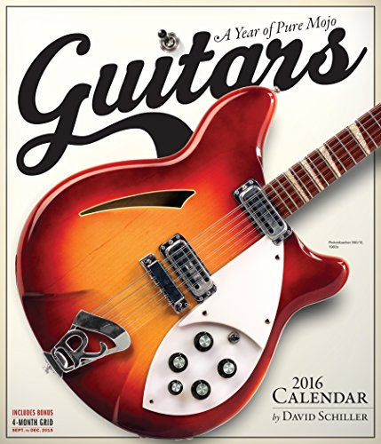 9780761182702: Guitars Wall Calendar 2016