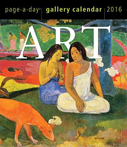 9780761182764: Metropolitan Museum of Art 2016 Page-a-Day Gallery Calendar (2016 Calendar)