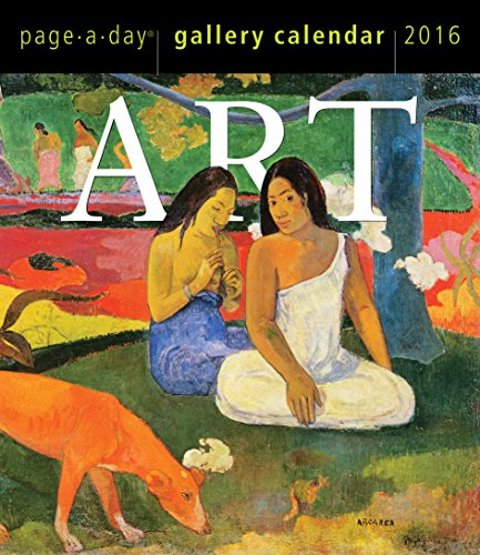 Art Page-A-Day Gallery Calendar 2016: Workman Publishing