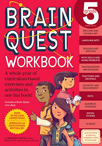 9780761182788: Brain Quest Workbook: Grade 5