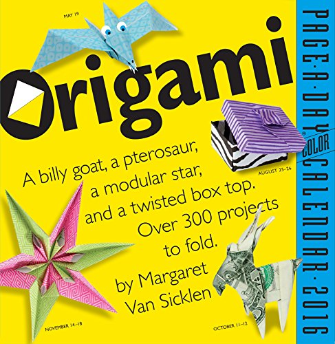 9780761182986: Origami Color Page-A-Day Calendar 2016