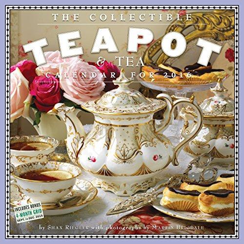 9780761183204: Collectible Teapot & Tea Wall Calendar 2016 (2016 Calendar)