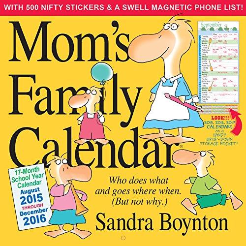 9780761183273: Mom's Family Wall Calendar