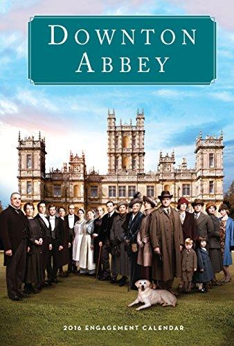 9780761183334: Downton Abbey Engagement Calendar 2016