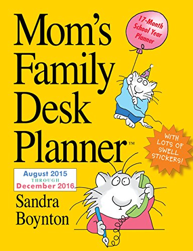 9780761183358: Mom's Family 2016 Desk Planner