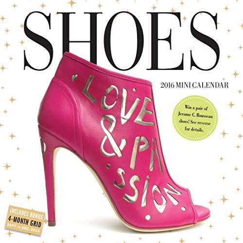 9780761183426: Shoes Mini Wall Calendar 2016